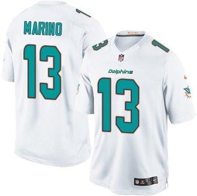 Cover Taiwan Nike NFL 邁阿密海豚隊 美式足球 橄欖球 球衣 嘻哈 復古 南灘 白 Oversize