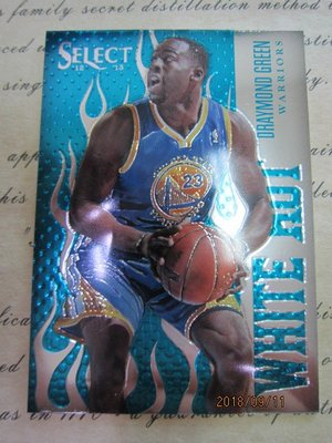 新賣家~12/13~Draymond Green~RC~SELECT~WHITE HOT~沒限量~50 1元起標