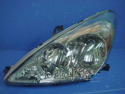 小亞車燈╠ 全新 高品質 凌志 lexus es330 原廠型 hid 專用版 晶鑽 魚眼 大燈 一顆 6000