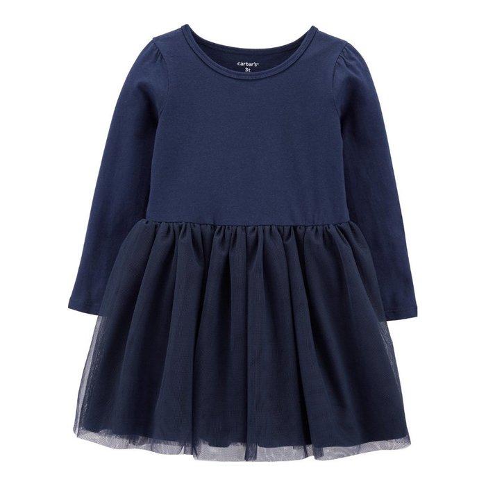 【Carter's】CS女童W洋上棉下紗藍 F03191002-02
