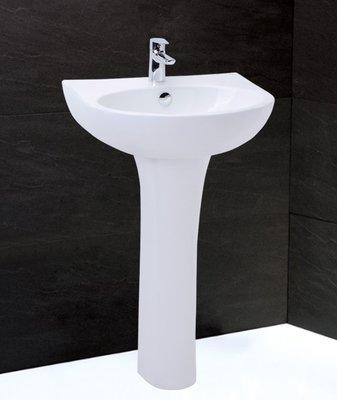《振勝網》Caesar 凱撒衛浴專賣店 LP2152S 50cm 面盆配長瓷腳組 / 不含龍頭