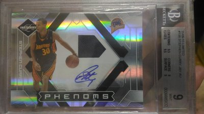 Stephen Curry RC 球衣簽