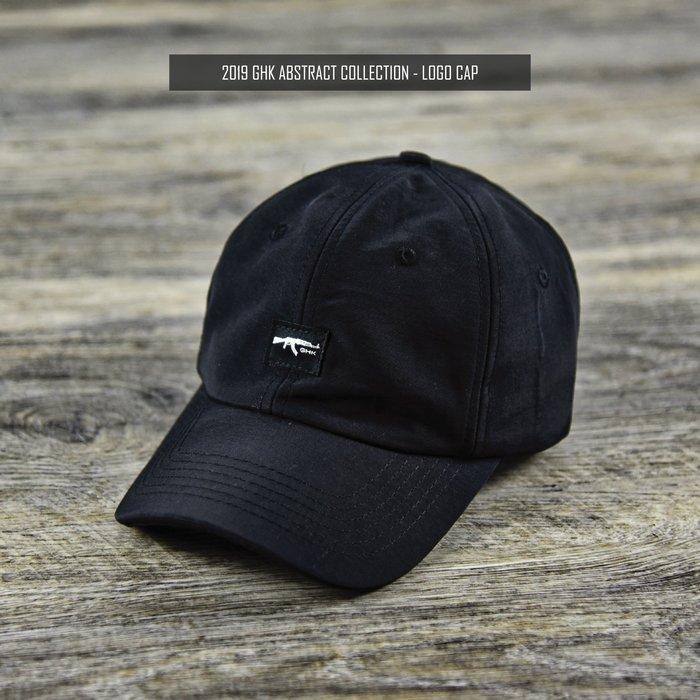 """GHK """" Abstract Collection """" Logo Cap 黑色"""