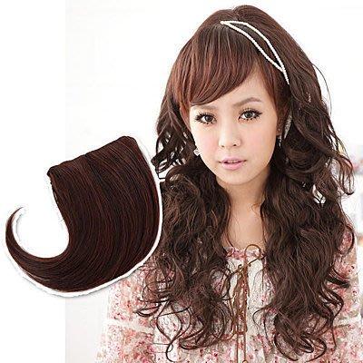 ☆雙兒網☆新品特價168元自然層次感設計【B001】耐熱纖維-左右協分瀏海髮片
