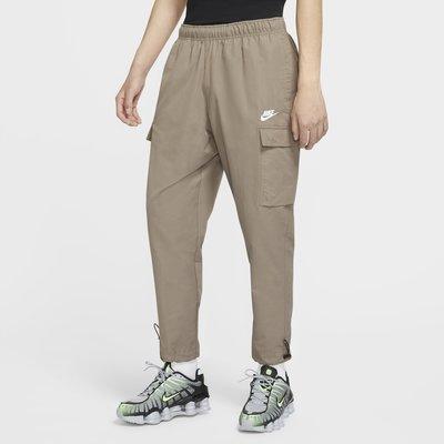 南◇2020 8月 Nike NSW 口袋 運動 長褲 工裝 Cu4326-081 卡其色 休閒 淺咖啡色 抽繩