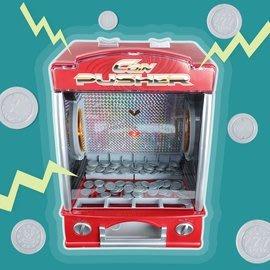 【KENTIM玩具城】音樂推幣機桌遊益智玩具【型號SLW-856】