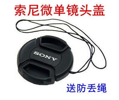 SONY索尼A5000 A6000 A6100 A6300微單相機16-50 40.5mm鏡頭蓋相機特惠~