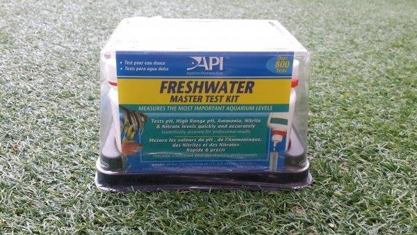 (城田魚菜共生農場)  魚菜共生、淡水養殖必備  API 淡水全套測試組