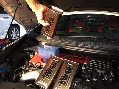 Benz BMW 車主指定專用 美國飛寶機油FULL BORE-NBI PLUS 5W40 鉍元素全合成機油
