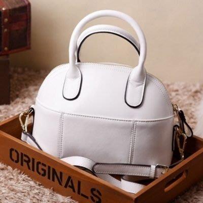 貝殼包 手提包-非凡嚴選典雅氣質肩背女包包4色72an17[獨家進口][米蘭精品]