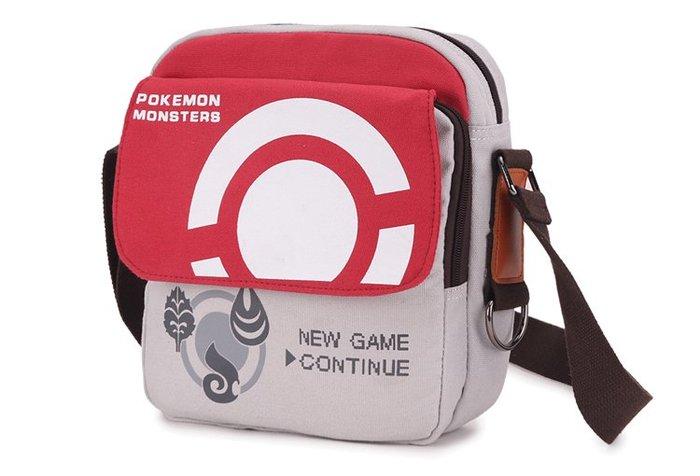 Pokemon GO 神奇寶貝 寶可夢斜背包 禮物 書包