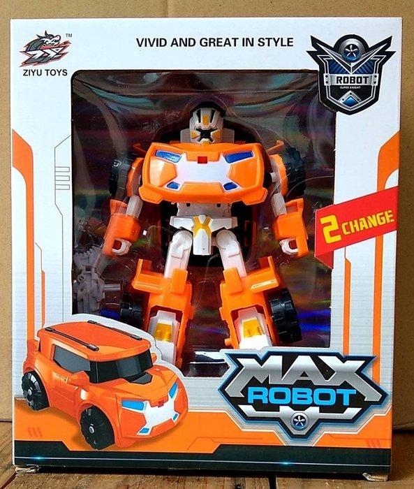 =海神坊=015-36 變形金鋼 6吋 橘色/白色 休旅車 模型車 變形車 機器人變汽車變機器人 30入3500免運
