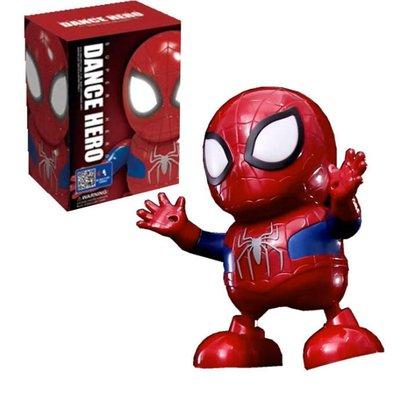 (全新現貨) Dance Hero Marvel 復仇者聯盟 Q版 跳舞 蜘蛛人 跳舞機器人