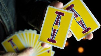 [fun magic] 黃色天梯撲克牌 天梯牌 天梯撲克牌 Jerry's Nuggets Playing cards