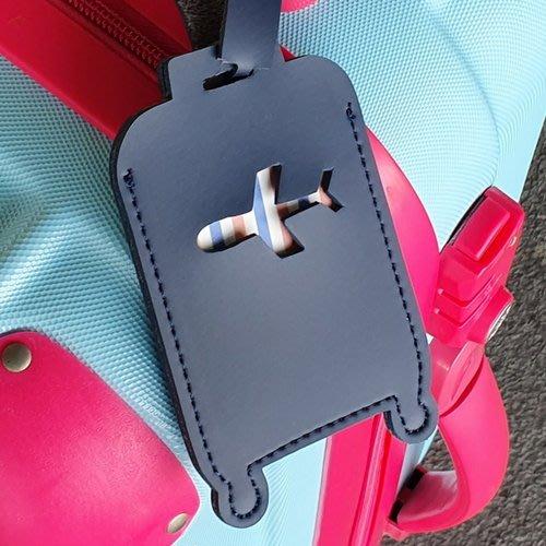 ♀高麗妹♀韓國 KKOMKOMI NAME TAKE 幸福出發 行李箱/背包 飛機造型屬名吊牌.書包名牌(6色選)預購