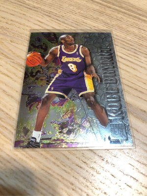 洛杉磯湖人隊 Kobe Bryant metal 新人卡 1996~1997 NBA籃球卡 球員卡