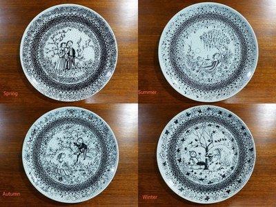Björn Wiinblad Seasons Plates 四季瓷盤
