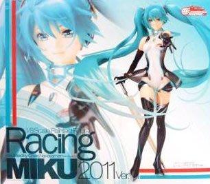 日本正版 GSC 賽車初音 RACING MIKU 2011 初音未來 1/8 模型 公仔 日本代購