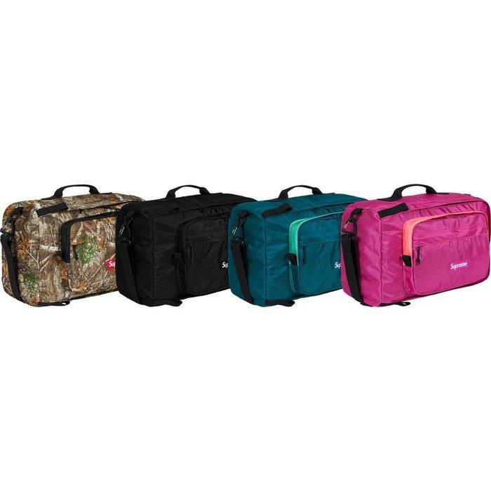 【紐約范特西】預購 SUPREME FW19 Duffle Bag 旅行袋