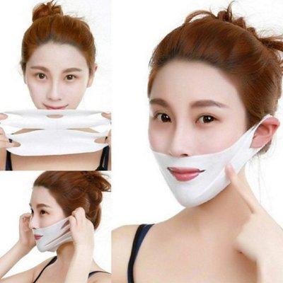 糖衣子輕鬆購【BA0322】4D掛耳V臉面膜提拉緊緻V臉法令紋提拉臉神器面膜
