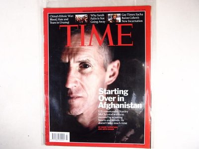 【懶得出門二手書】英文雜誌《TIME 2009.07.20》STARTING OVER IN AFGHANISTAN│(21F22)