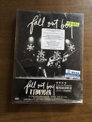 *還有唱片三館*FALL OUT BOY / LIVE IN DVD+CD 全新 XX0472 (需競標)