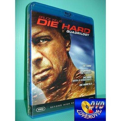 A區Blu-ray藍光正版【終極警探1~4四部曲套裝Die Hard】[含中文字幕] DTS-HD全新未拆