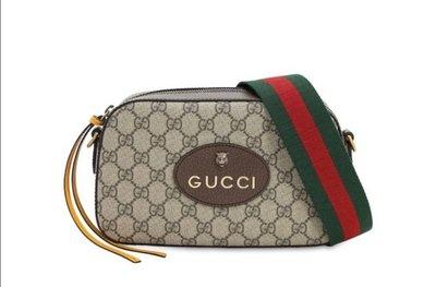 4/5前代購29500元**可刷卡可分期** 全新 Gucci ophidia 虎頭 相機包 可斜背 476466