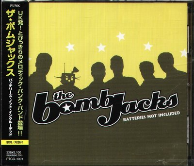 K - The Bombjacks - Batteries Not Included - 日版 - NEW
