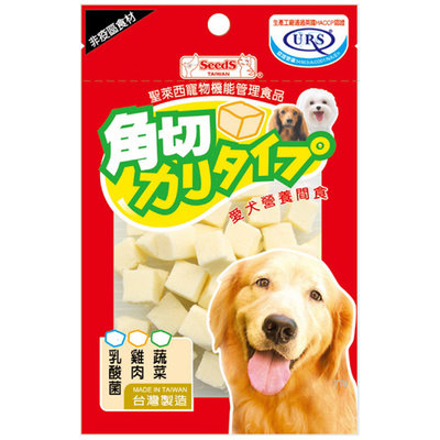 ☆HT☆聖萊西 Seeds 角切起司塊60g-乳酸菌