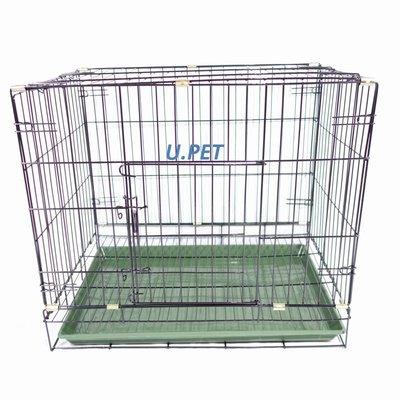 【優比寵物】2尺活動褶疊式/折疊式靜電粉體烤漆貓籠/狗籠/兔籠/寵物籠 產地 : 台灣