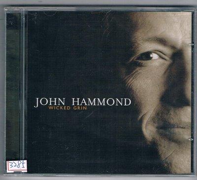 [鑫隆音樂]西洋CD-約翰漢默John Hammond* – Wicked Grin /全新/免競標