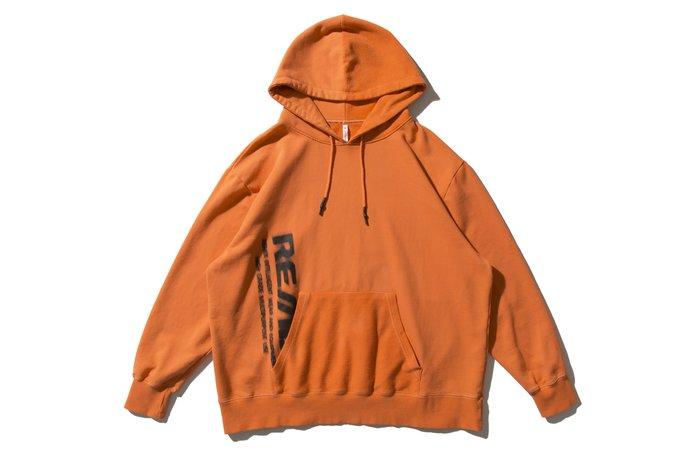 [ LAB Taipei ] REMIX '18 A/W MOTION HOODY [ 橘 ]