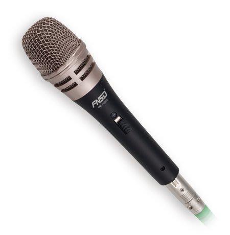 面可議價 來電店內更便宜 竹北鴻韻音響影音生活館 FNSD 有線麥克風 OK-700A