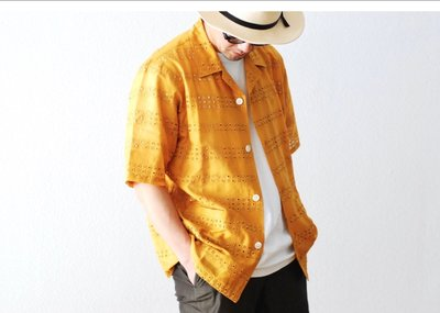 Needles 洞洞刺繡雙口袋短袖襯衫 Cabana Shirt。太陽選物社