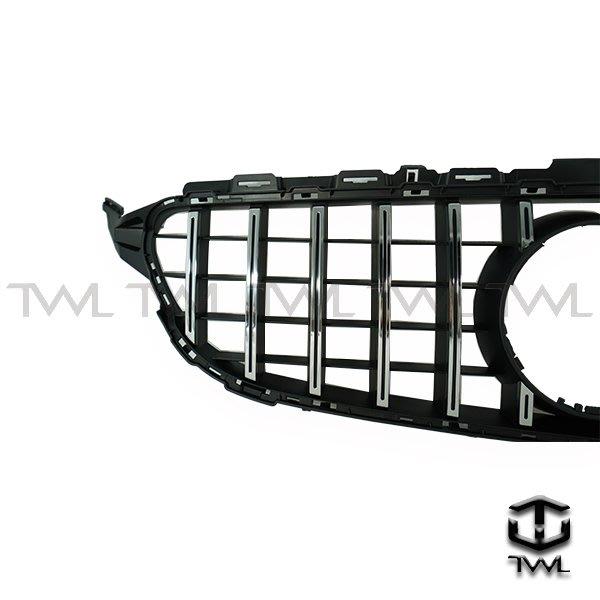 《※台灣之光※》全新BENZ W205 S205 前期專用GTR GT-R AMG款直立式鍍鉻水箱罩C250 C300