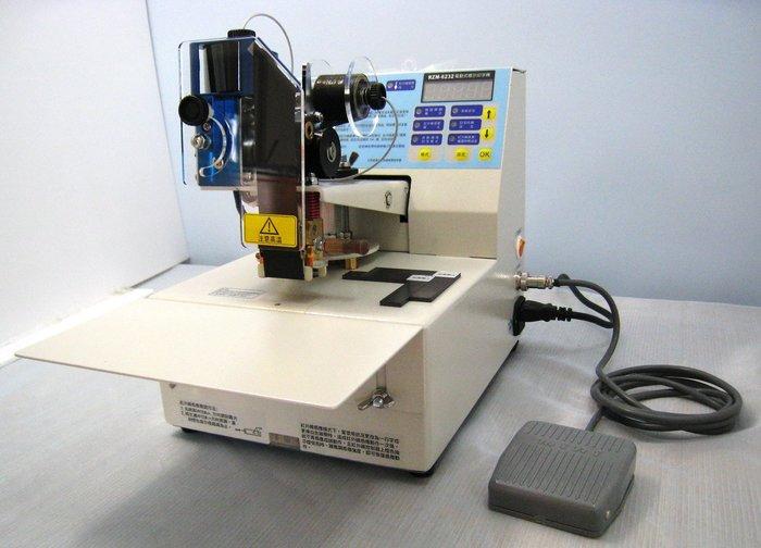 ㊣創傑包裝自動標示印字機 CJ-6232附字夾一盒 印製造日期+保存期限 工廠直營