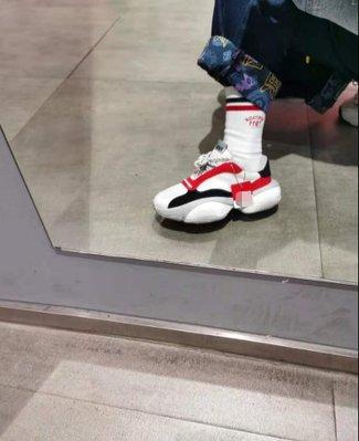 Puma Alteration Core 黑白紅 經典 增高 厚底 透氣 減震 跑步 慢跑鞋 371584-02 男女鞋