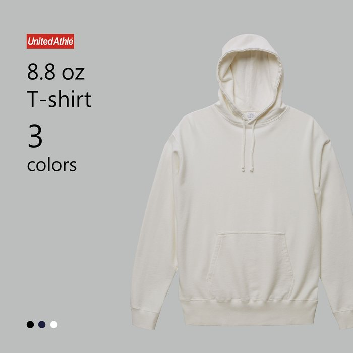 WaShiDa【UA5065】United Athle × 8.8磅 棉質 染色 連帽 長袖 運動衫 (預訂款十月上旬到