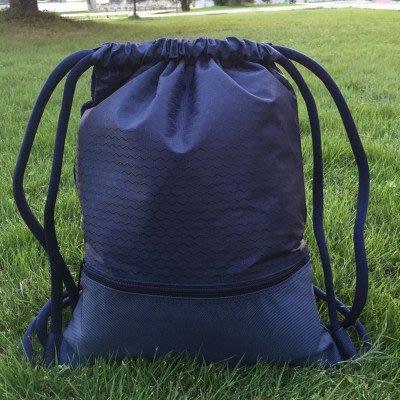 創意 旅行必備 定制束口袋抽繩雙肩包男女戶外籃球包防水輕便球鞋包運動袋子團購