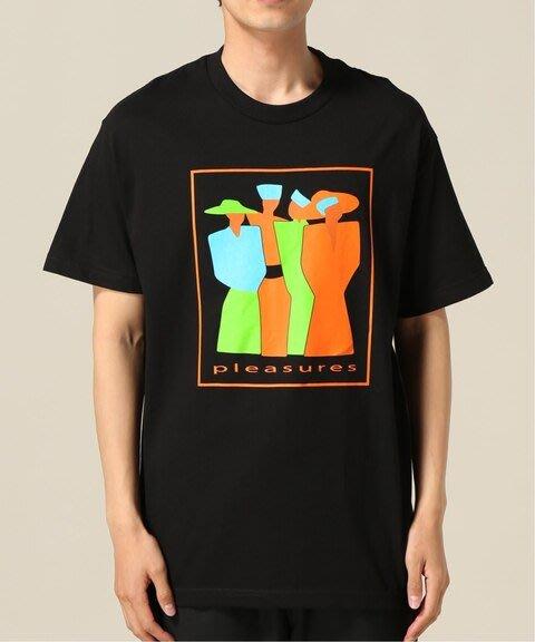 Giantmall PLEASURES Leo T-Shirt Black  短T 短袖 GCTC 潮流 Kaws可參考