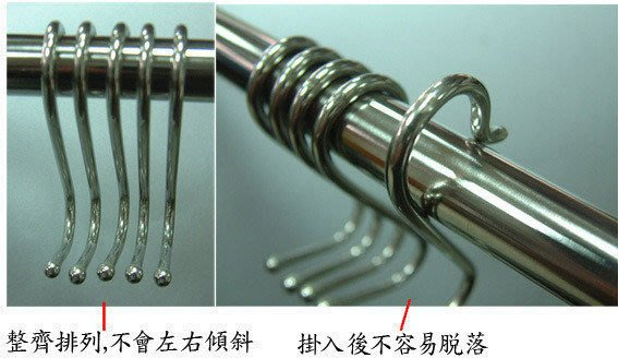 ☆成志金屬☆S-19N5*優質產品*不鏽鋼S勾5支/袋69元,S掛勾高級品,市面最高等級材料製S鉤。