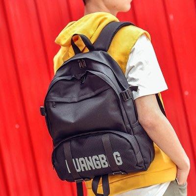 肩背包 雙肩包 斜挎包 單肩包 手提包2018新款韓版雙肩包休閑男女學院風背包旅行包中學生MTJ3EDHUMG