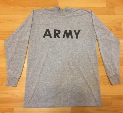 US ARMY 美國陸軍 長袖運動上衣 N9 Supreme M 二手 古著 美製 嬉皮村 orslow ape