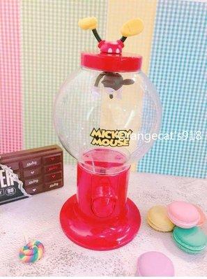 日本 迪士尼 米奇/三眼怪 扭蛋機造型 糖果罐 收納 趣味 生日part 裝飾 婚禮佈置 開店擺飾
