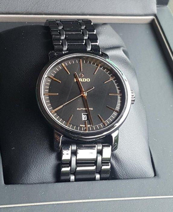 雷達 最後降價 RADO DiaMaster陶瓷機械錶 黑色 透明背蓋 店保一年R14073162