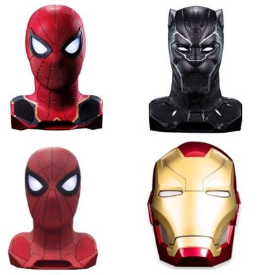 Marvel 1:1真人頭像 藍牙喇叭(無現貨,預訂2星期到貨)