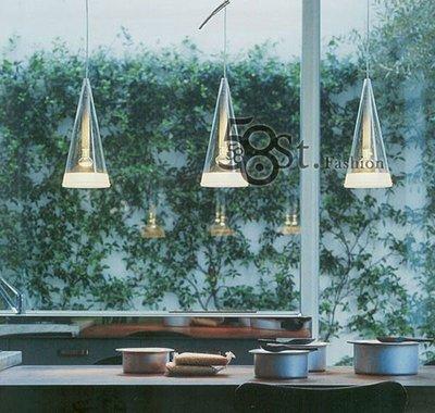 【58街燈飾-台中館】「風鈴餐吊燈」-長型_三燈$2380-GH-026