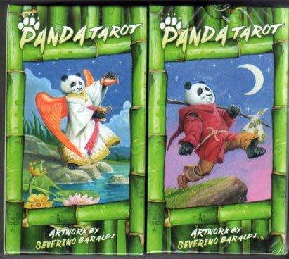 [牌的世界]熊貓塔羅牌 PANDA TAROT(78張)