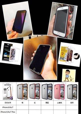 iPhone 7/plus 保護套Bump型朗邊框係列 (不影響訊號)